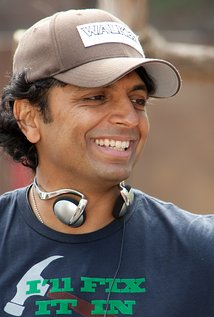 M. Night Shyamalan. Director of Unbreakable