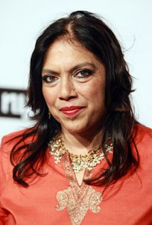 Mira Nair. Director of Monsoon Wedding