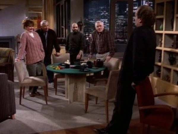 Frasier - Season 1 Episode 15: You Can't Tell a Crook by His Cover