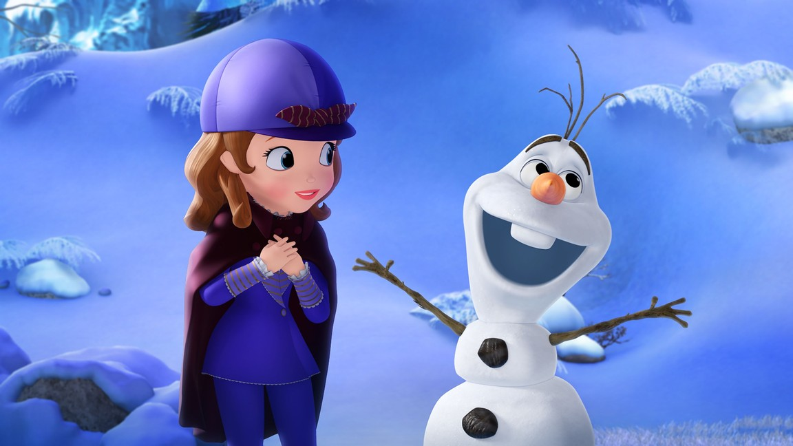 Sofia the First - Season 3 Episode 14: The Secret Library: Olaf and the Tale of Miss Nettle