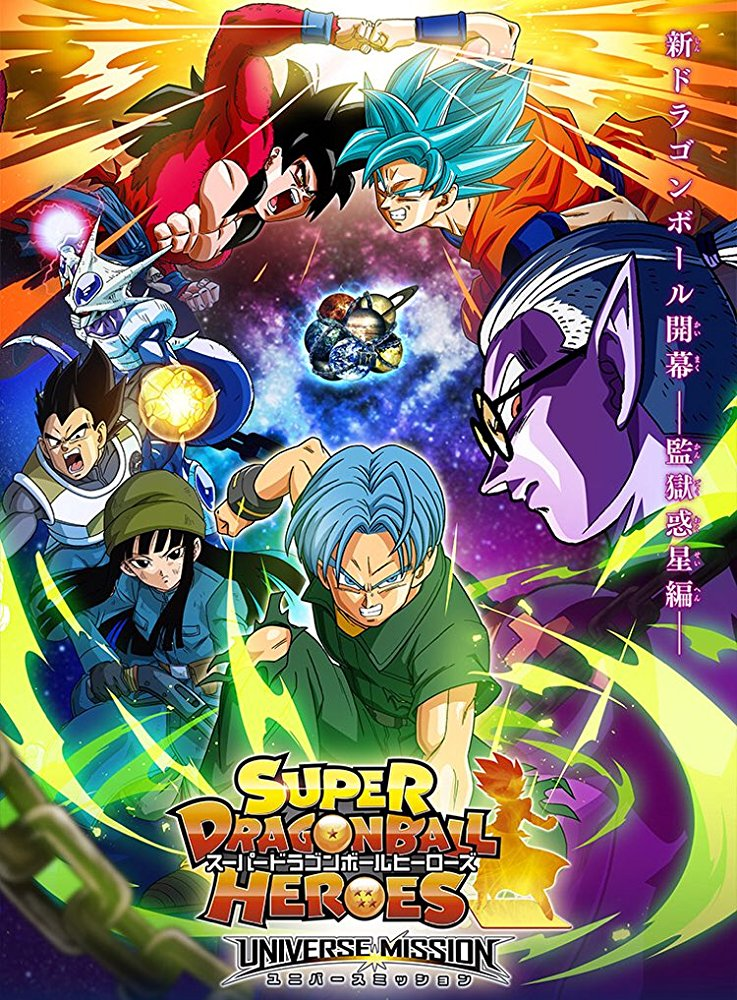 Dragon Ball Heroes - Season 1 [Sub: Eng]