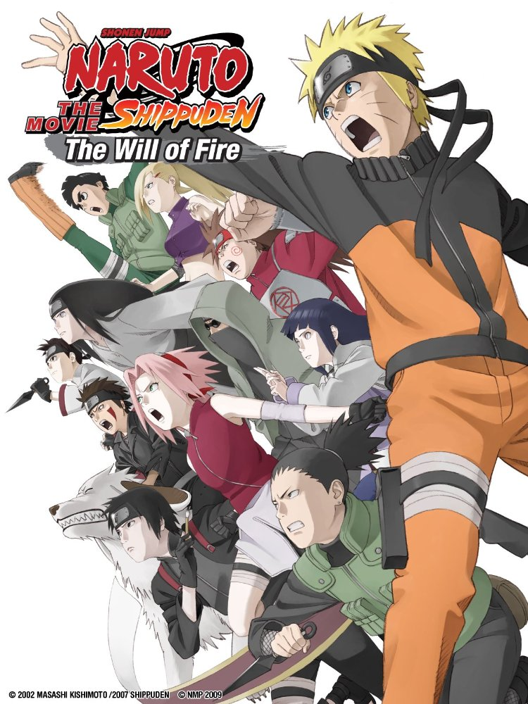Naruto Shippuuden Movie 3: The Will of Fire