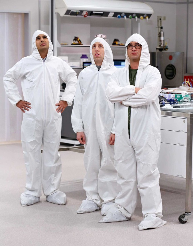 The Big Bang Theory - Season 8 Episode 11: The Clean Room Infiltration