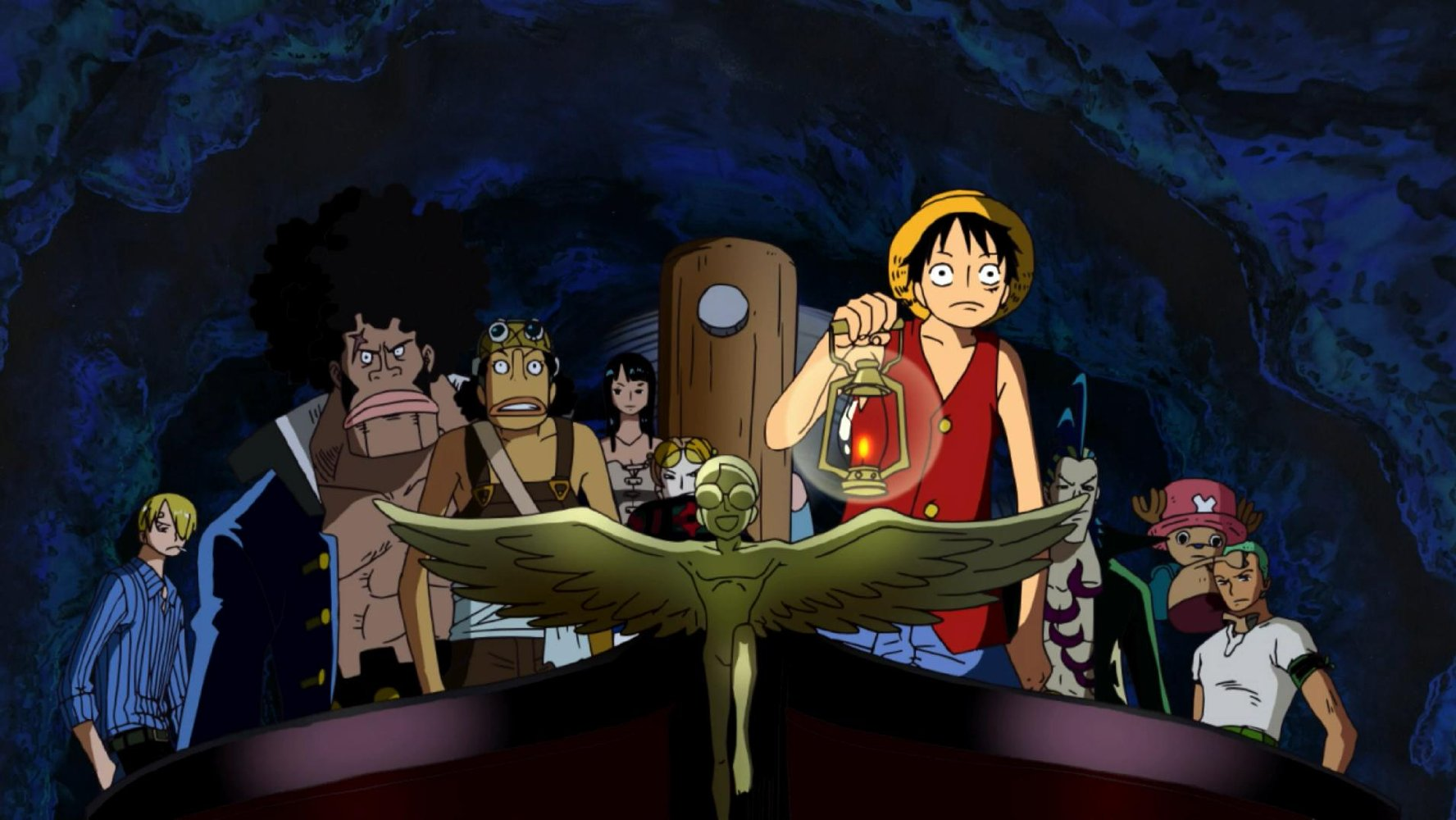 One Piece The Movie 07: The Giant Mechanical Soldier of Karakuri Castle
