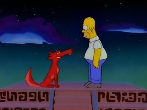 The Simpsons - Season 8 Episode 09: El Viaje de Nuestro Jomer (The Mysterious Voyage of Homer)