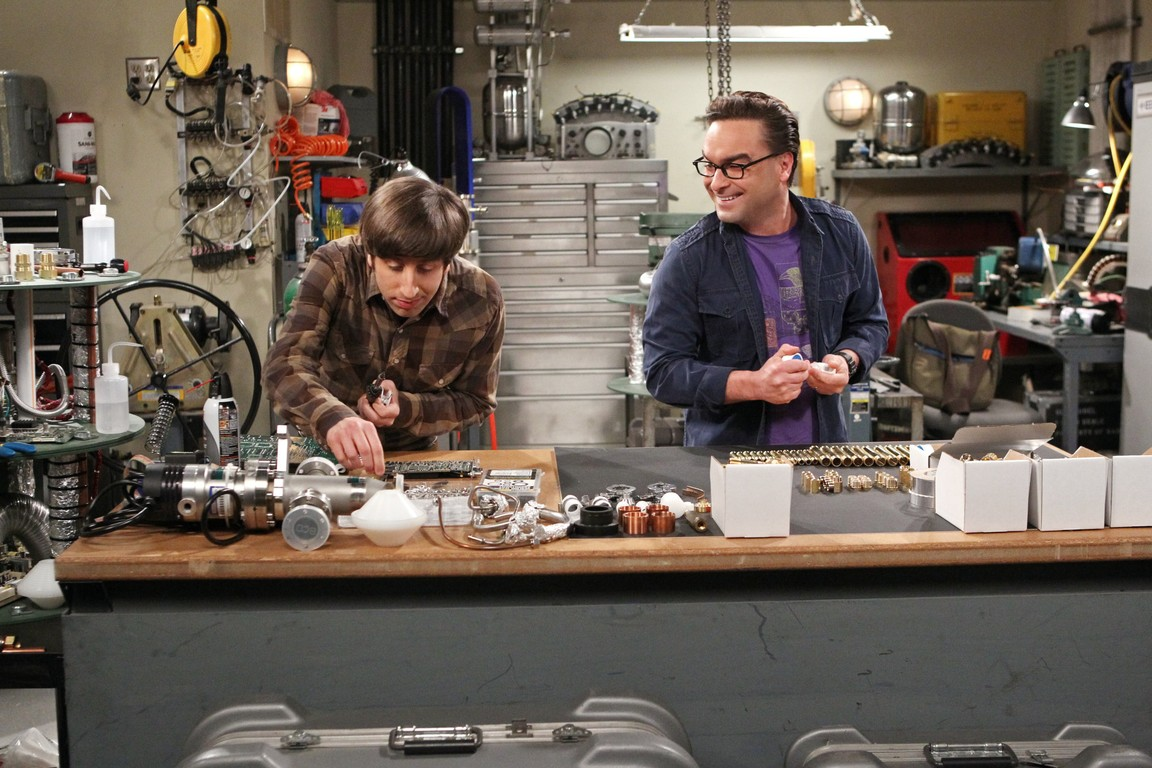 The Big Bang Theory - Season 9 Episode 19: The Solder Excursion Diversion