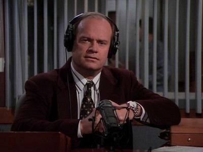 Frasier - Season 4 Episode 08: Our Father Whose Art Ain't Heaven