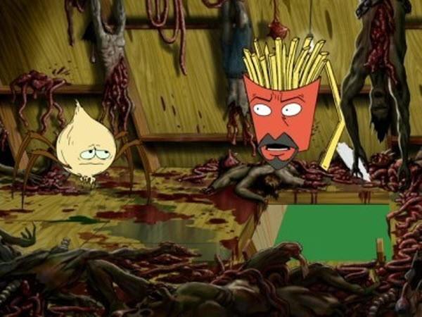 Aqua Teen Hunger Force - Season 2 Episode 15: The Shaving