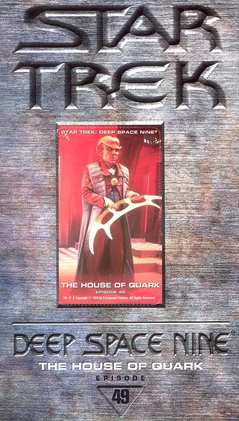 Star Trek: Deep Space Nine - Season 3 Episode 3: The House Of Quark
