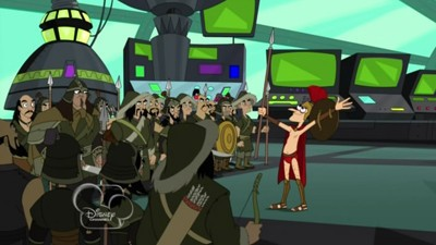 Phineas and Ferb - Season 3 Episode 21: Meapless in Seattle