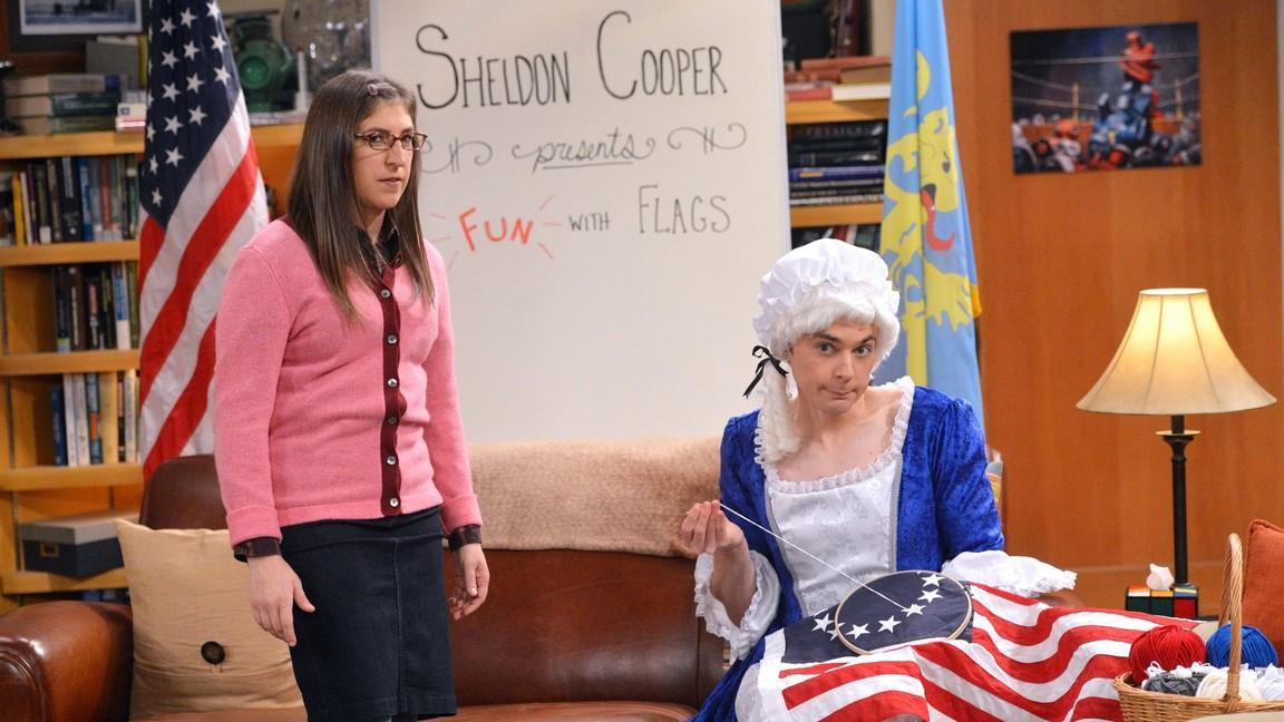 The Big Bang Theory - Season 8 Episode 10: The Champagne Reflection