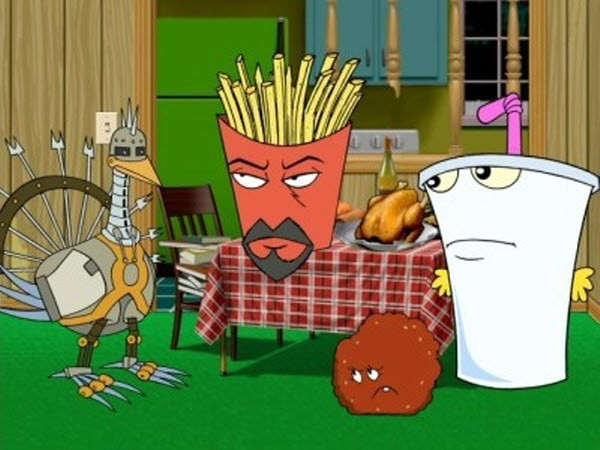 Aqua Teen Hunger Force - Season 2 Episode 21: The Dressing