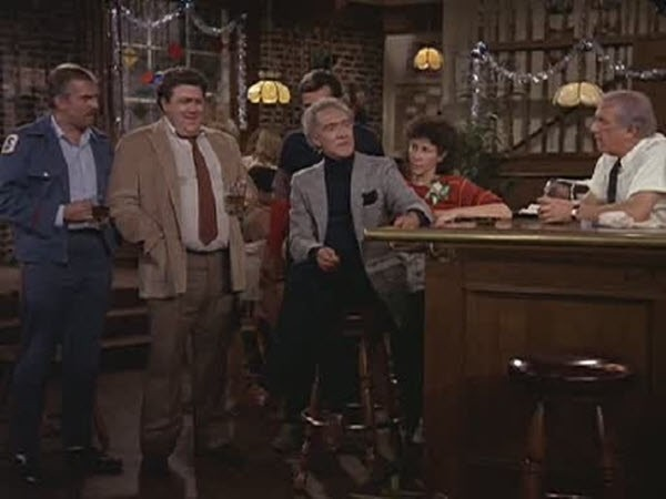 Cheers - Season 1 Episode 12: The Spy Who Came in for a Cold One