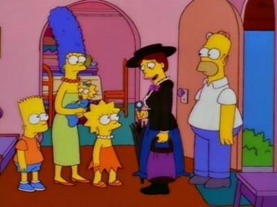 The Simpsons - Season 8 Episode 13: Simpsoncalifragilisticexpiala (Annoyed Grunt) cious
