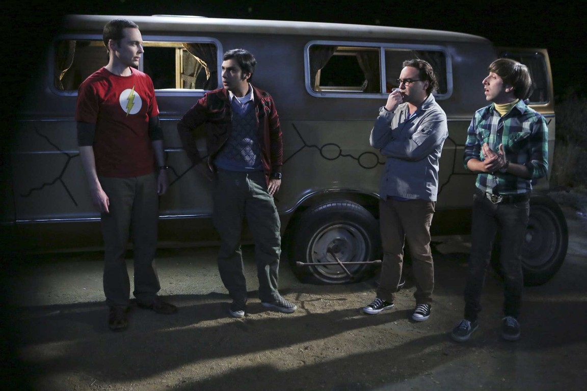 The Big Bang Theory - Season 9 Episode 03: The Bachelor Party Corrosion
