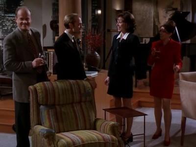 Frasier - Season 4 Episode 13: Four for the Seesaw