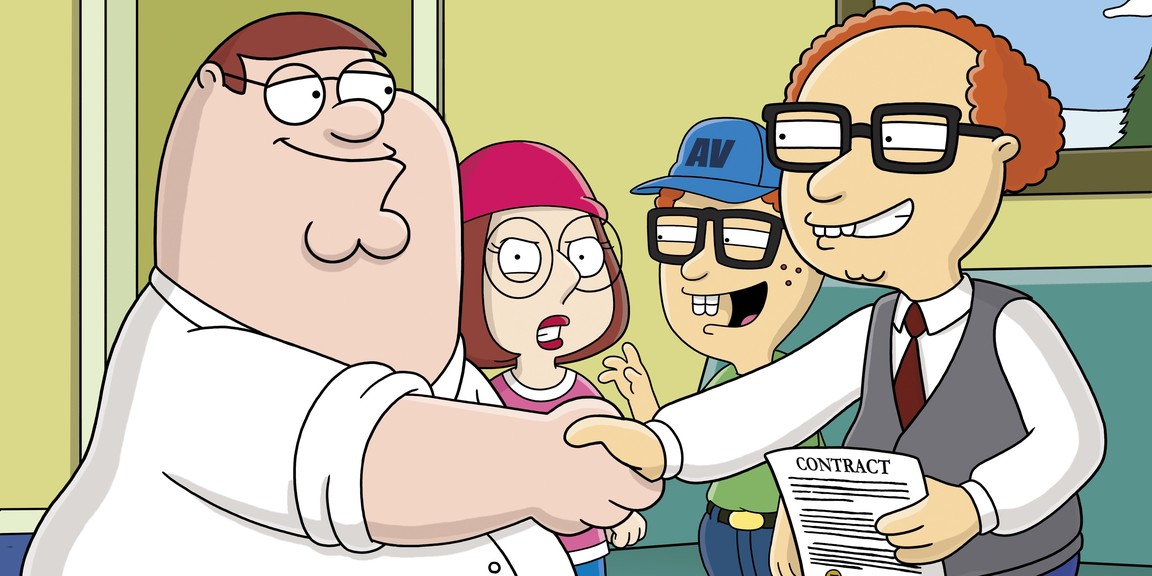 Family Guy - Season 4 Episode 8: 8 Simple Rules for Buying My Teenage Daughter