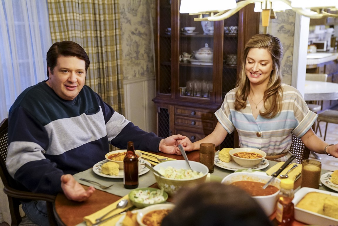 Young Sheldon - Season 1 Episode 14: Potato Salad, a Broomstick, and Dad's Whiskey