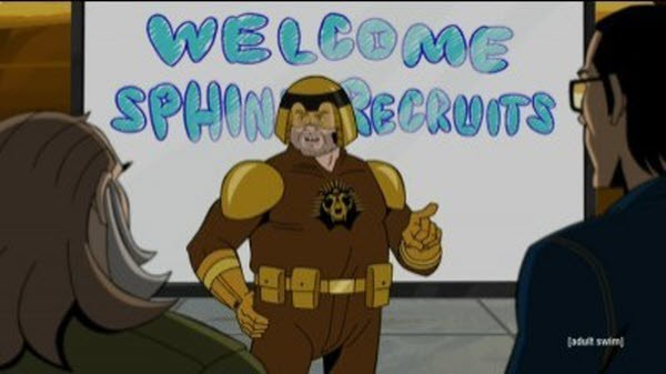 The Venture Bros  - Season 5 Episode 03: SPHINX Rising