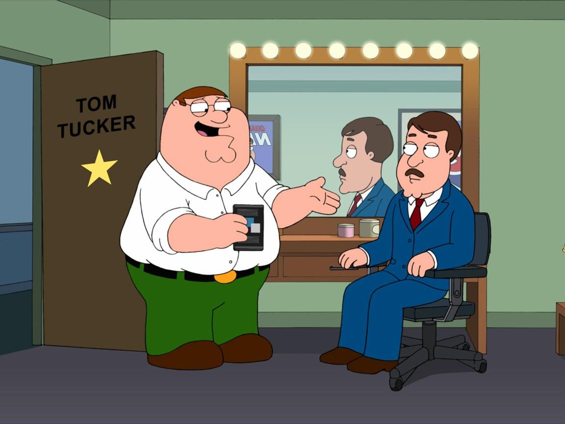 Family Guy - Season 10 Episode 13: Tom Tucker: The Man and His Dream