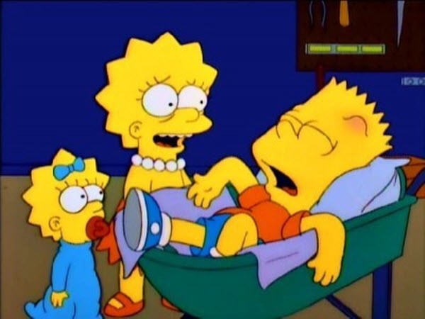 The Simpsons - Season 8 Episode 17: My Sister, My Sitter