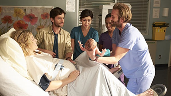 Saving Hope - Season 2 Episode 17: Twinned Lambs