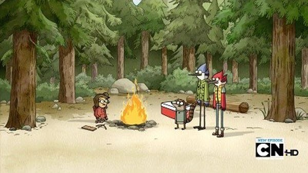 Regular Show - Season 3 Episode 05: Camping Can Be Cool