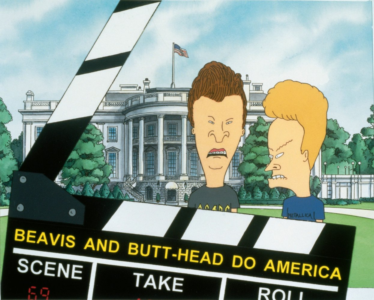Beavis and Butt Head Do America