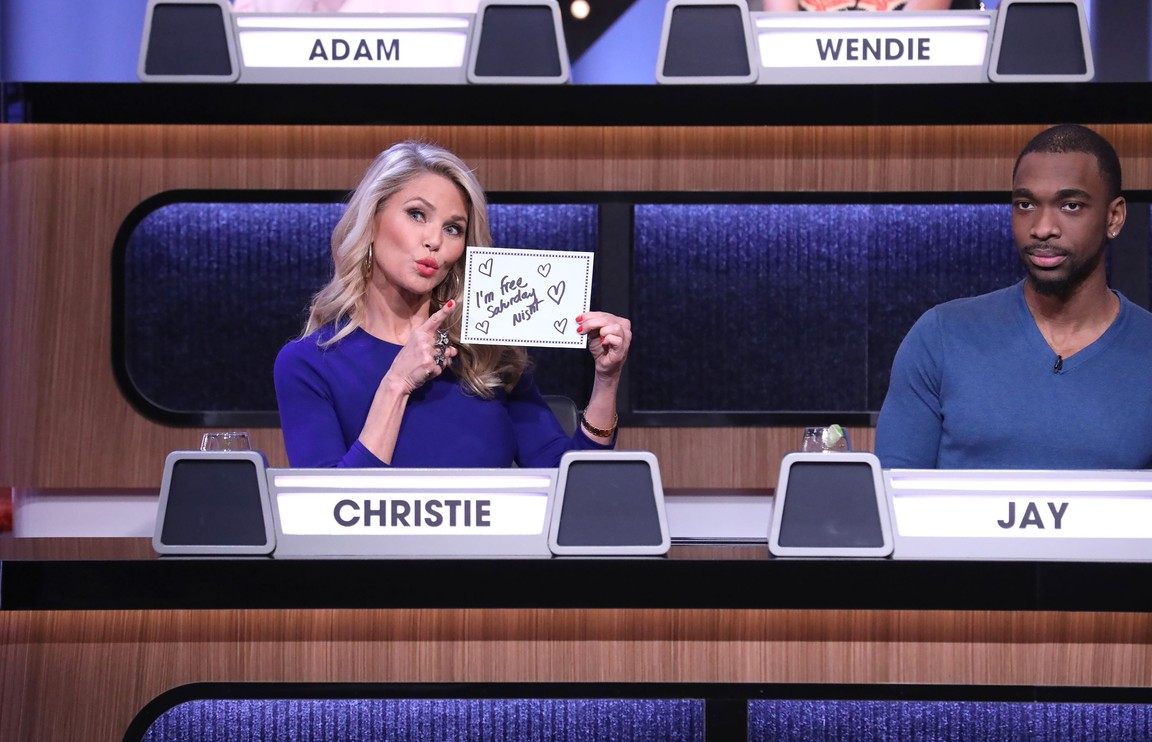 Match Game - Season 2 Episode 11: Adam Carolla/Ana Gasteyer/Chris Colfer/Christie Brinkley/Jay Pharoah/Wendie Malick