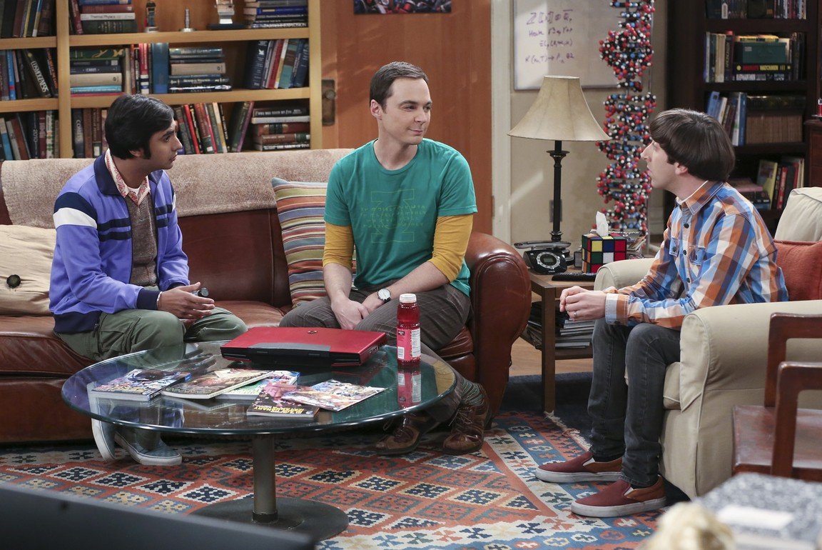 The Big Bang Theory - Season 9 Episode 08: The Mystery Date Observation