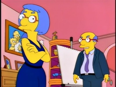 The Simpsons - Season 8 Episode 06: A Milhouse Divided
