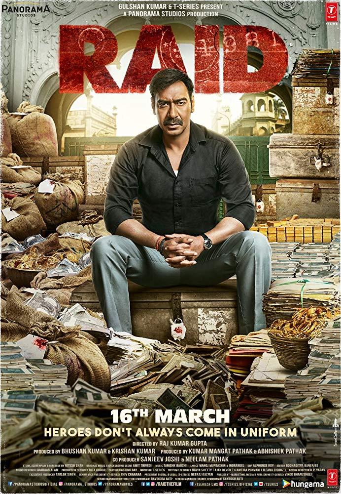 Raid(2018) [Audio: Hindi]