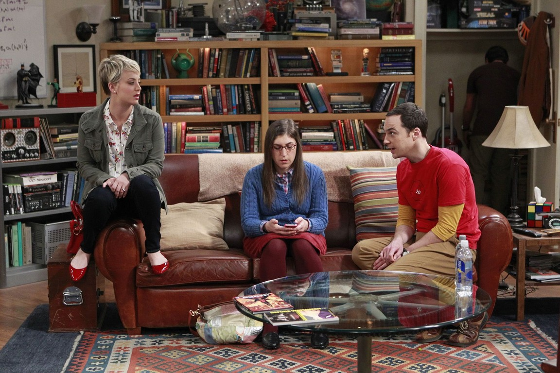 The Big Bang Theory - Season 8 Episode 12: The Space Probe Disintegration