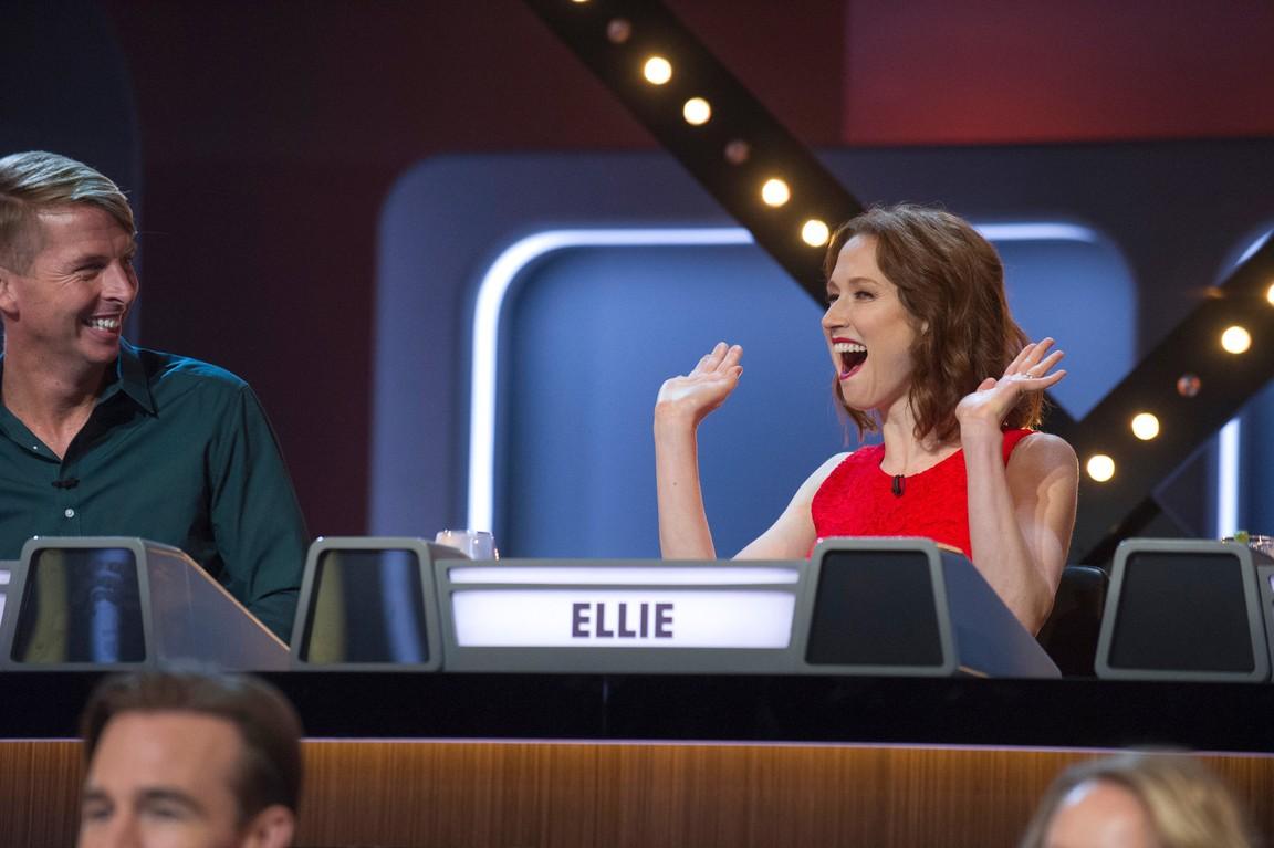 Match Game - Season 3 Episode 04: Jack McBrayer/Ellie Kemper/Anthony Anderson/Yvette Nicole Brown/James Van Der Beek/Anna Camp