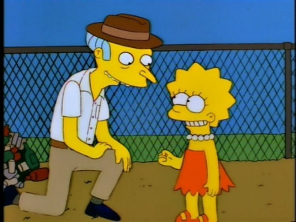 The Simpsons - Season 8 Episode 21: The Old Man and Lisa